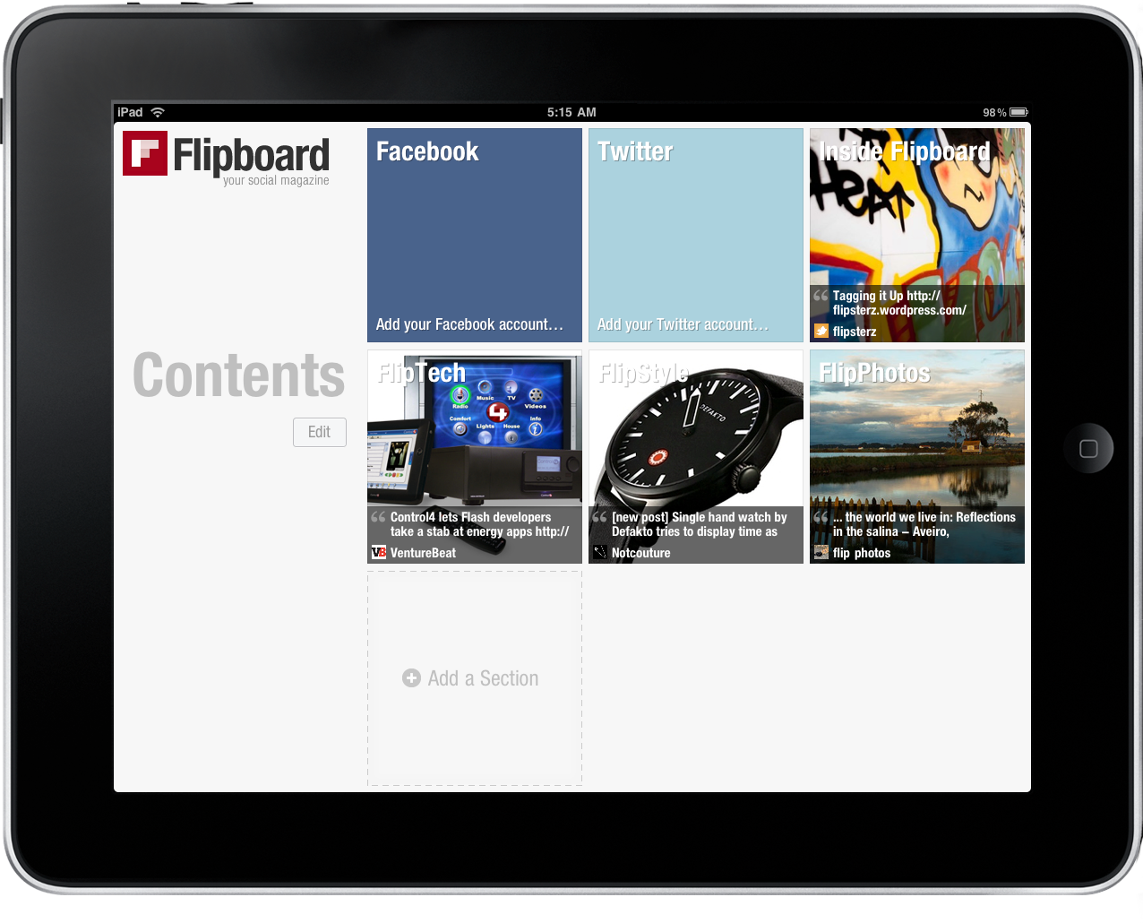 Thoughts on Flipboard – MacStories