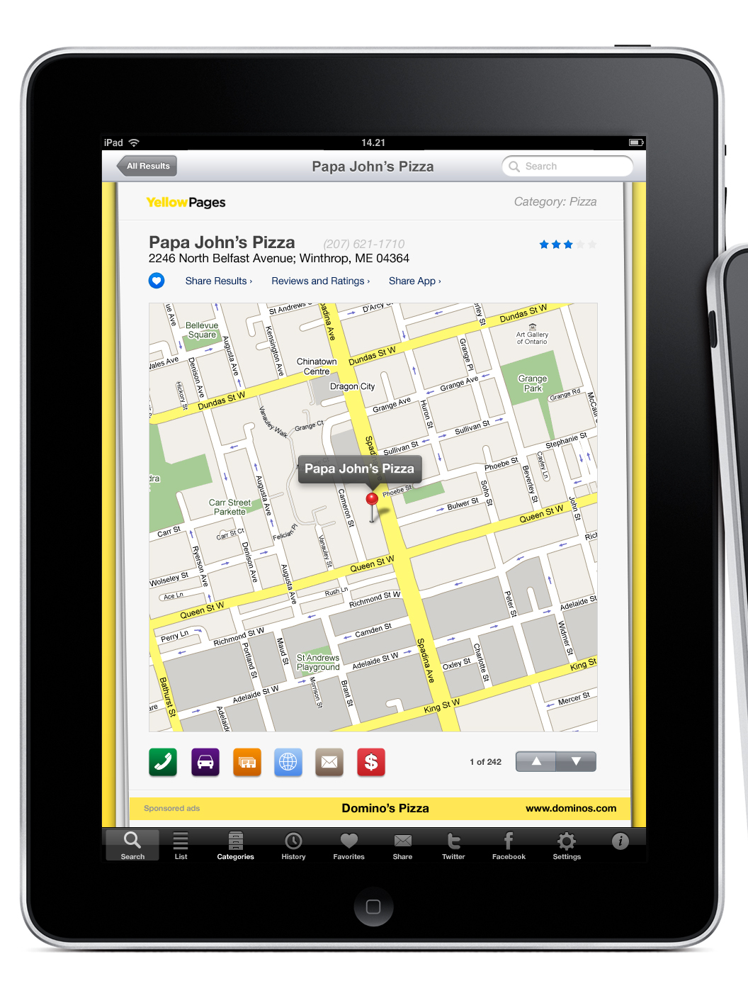 Preview: Yellow Pages for iPad – MacStories